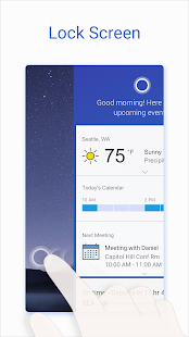 Microsoft Cortana – Digital assistant Screenshot
