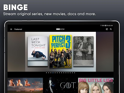 HBO NOW: Stream TV & Movies Screenshot