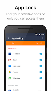 Avast Mobile Security 2018 - Antivirus & App Lock Screenshot