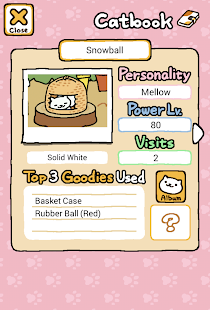 Neko Atsume: Kitty Collector Screenshot