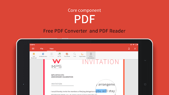 WPS Office - Word, Docs, PDF, Note, Slide & Sheet Screenshot