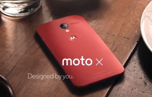Moto X (Source Motorola)