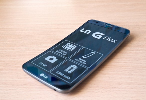 LG GFlex, source Karlis Dambrans/ Flickr