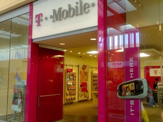 T Mobile store, source Matthew Stevens/ Flickr