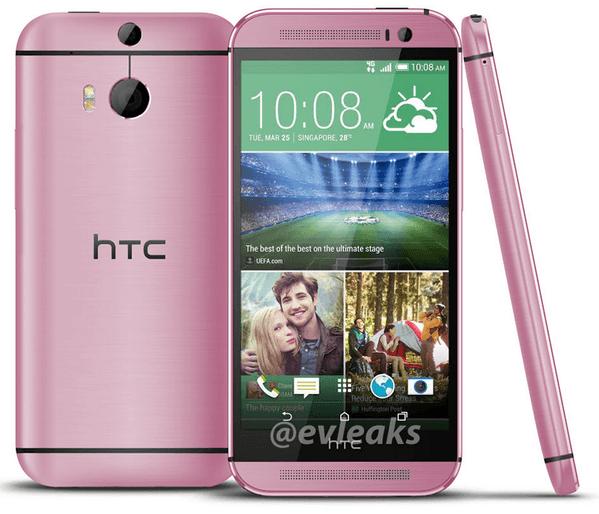 HTC One M8, source EVLeaks