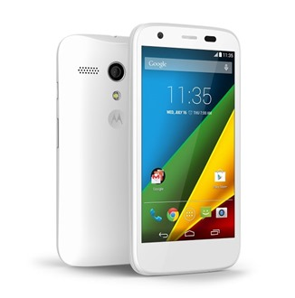 Moto G white, source Motorola
