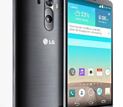LG G3, Source LG