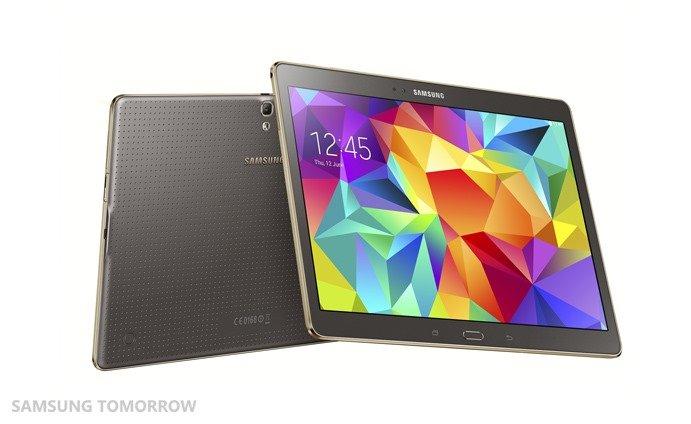 Samsung Galaxy Tab S, source Samsung