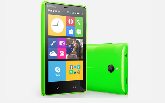 Nokia X2, source Nokia