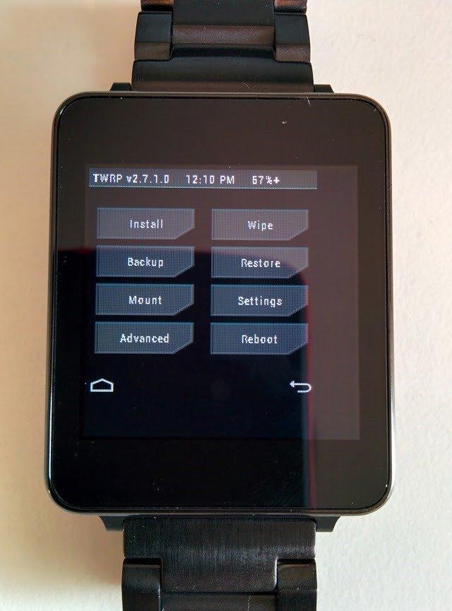 LG G Watch modded