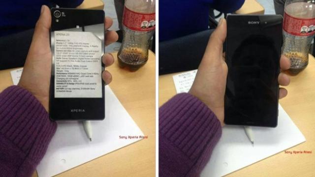 Xperia Z3, source Sony Xperia Ailesi/Facebook