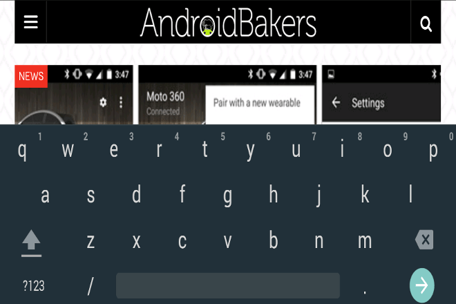 Material Google Keyboard 4 0 – see the changes and download