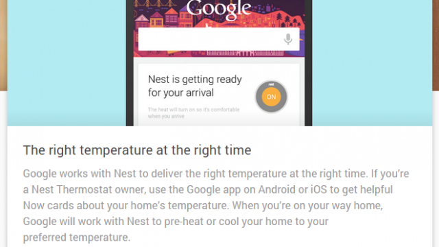 Nest Google now