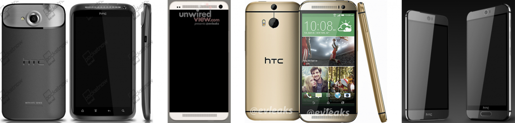 HTC M9 possible renders