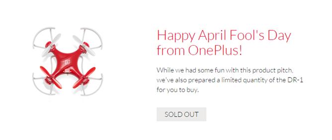 OnePlus dron