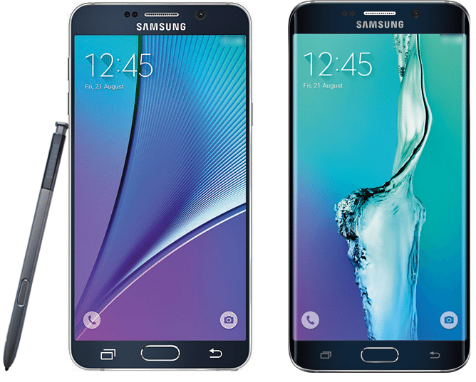 Galaxy Note 5 and S6 Edge Plus