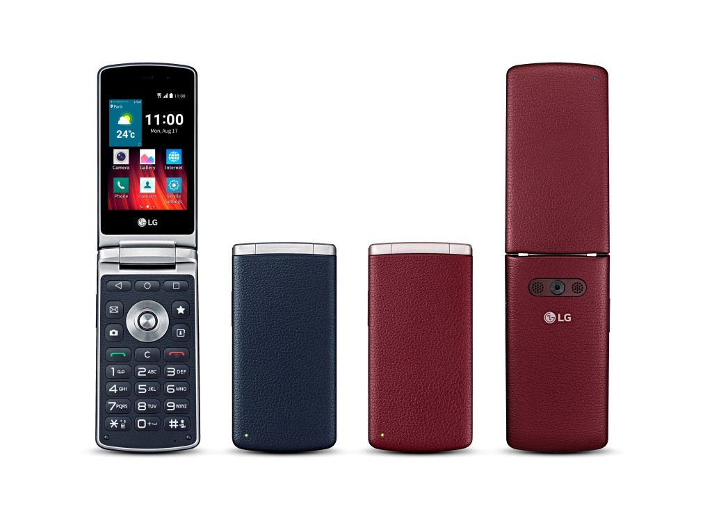 LG flip smartphone