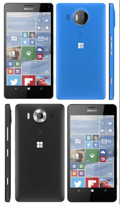 Microsoft Lumia 950 XL and Lumia 950