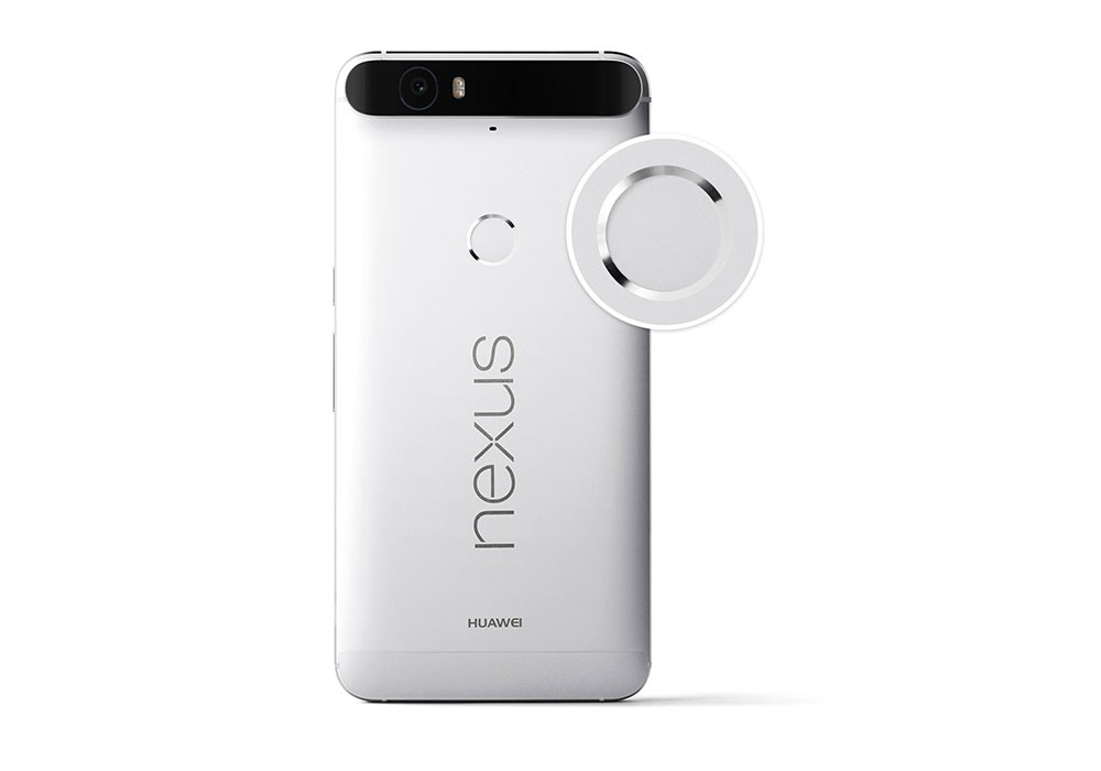 Huawei Nexus fingerprint scanner