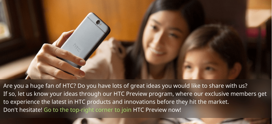HTC Preview