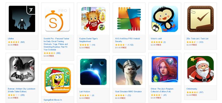 Amazon app sale free