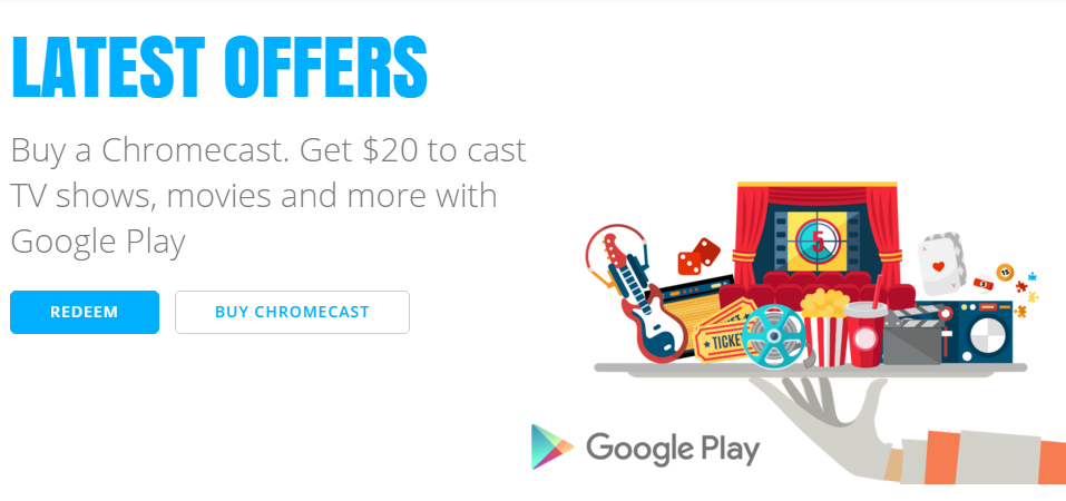 Chromecast deal