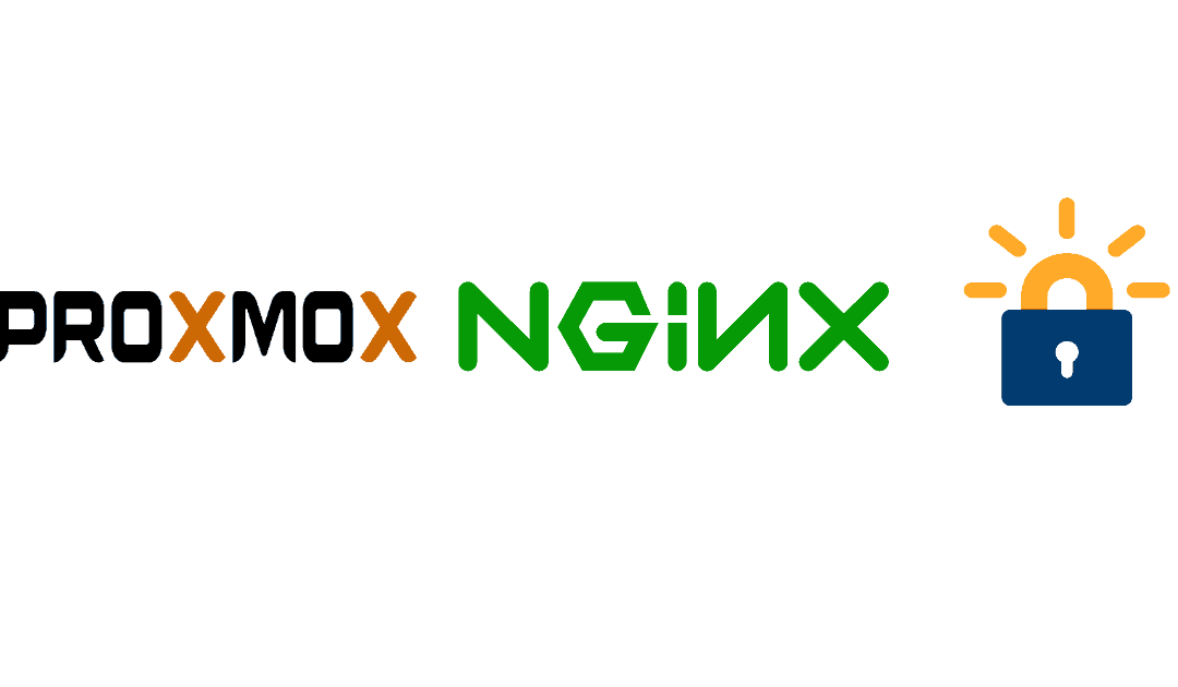 Nginx ProxMox Proxy using Letsencrypt SSL cert