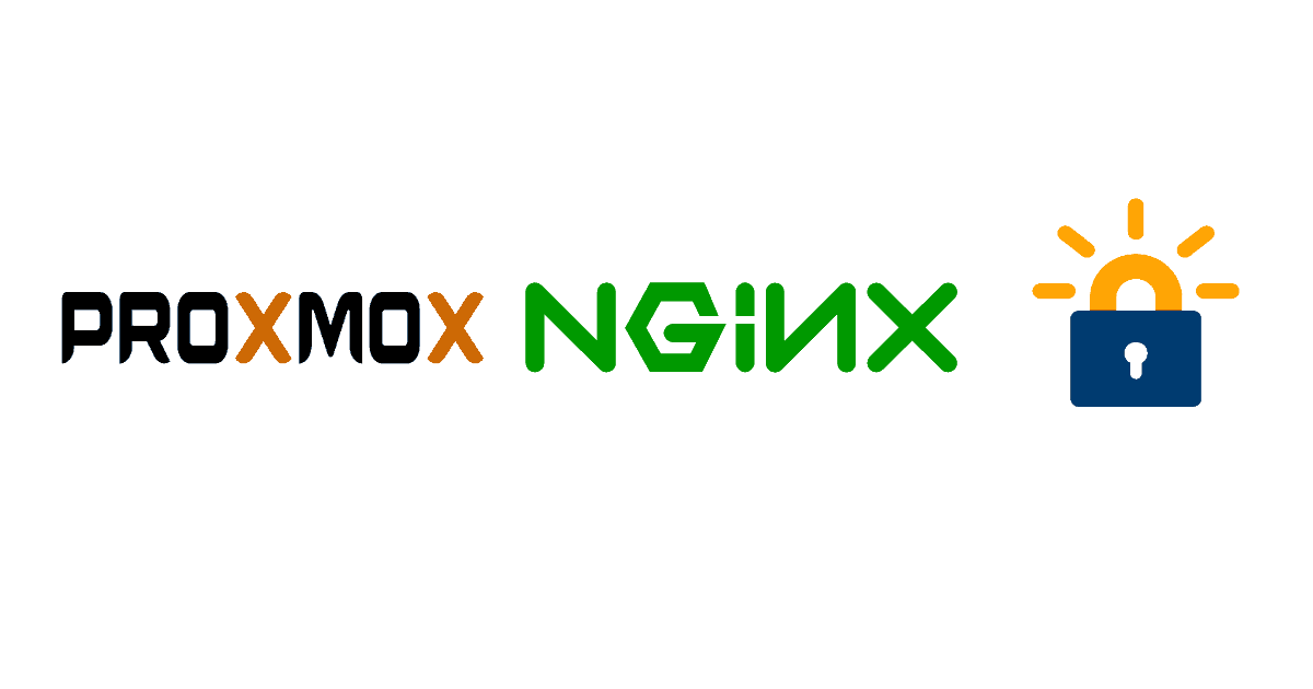 nginx proxmox proxy using letsencrypt ssl